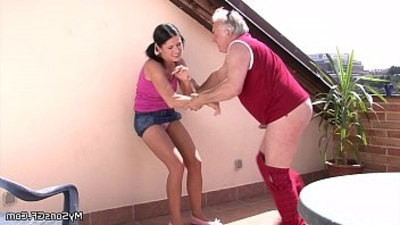 behind  fucking  older  woman  younger