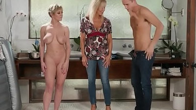boyfriend   massage   son   stepmom