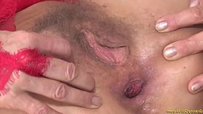 aggressive  anal fucking  first time  granny  old and young