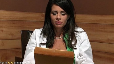 brunette  doctor  sexy girls  threesome  tits