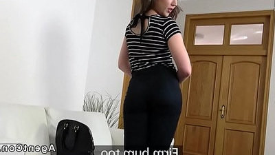 agent  brunette  fucking  small tits