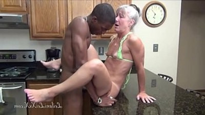 facial   kitchen   milf