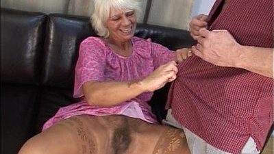 granny  hairy pussy  mature  young