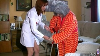 bbw   chubby   granny   masturbating   nurse   old and young