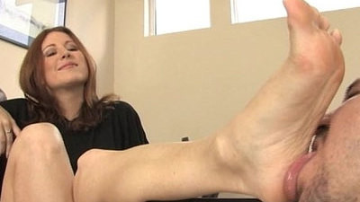 fetish   foot   worship
